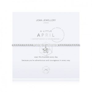 Joma Jewellery A Little April Rock Crystal