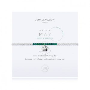 Joma Jewellery A Little May Green Agate